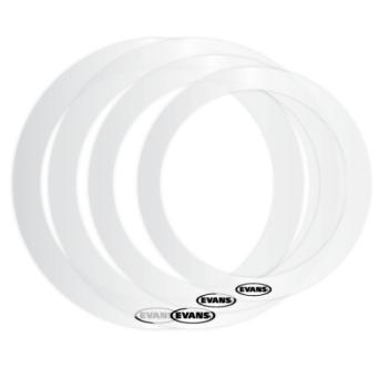 Evans Drumheads ER-FUSION Evans E-Ring Pack, Fusion