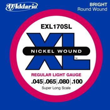 D'Addario EXL170SL Bass XL Regular Light Super Long Scale 45-100