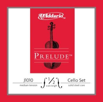 D'Addario Prelude 1/2 Cello String Set Medium Tension J101012M