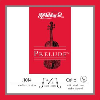 D'Addario Bow J101444M D'Addario Prelude Cello Single C String, 4/4 Scale, Medium Tension