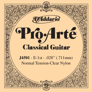 D'Addario J4501 Classic Guitar E String Normal