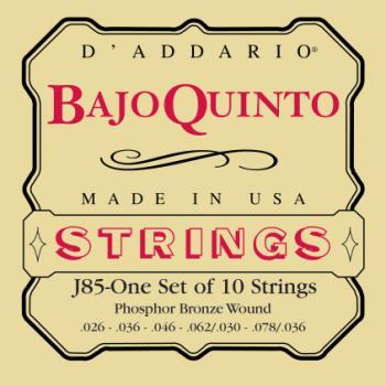 D'Addario EJ85 Bajo Quinto String Set