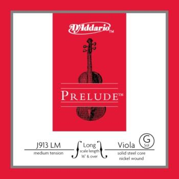 "Prelude 16"" Viola G String Long Scale Med Tension"