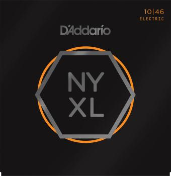 D'Addario NYXL 10-46 Nickel Wound Electric Guitar Strings, Regular Light NYXL1046
