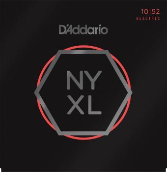 D'Addario  NYXL1052 Nickel Electric Light Top/Heavy Bottom, 10-52