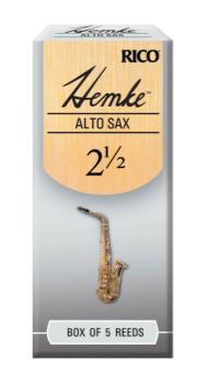 Hemke Alto Sax Reeds 2.5 5 Pack RHKP5ASX250