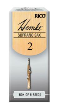 D'Addario RHKP5SSX200 Hemke Soprano Sax Reeds, Strength 2.0, 5-pack