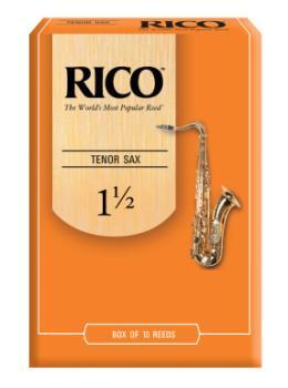 RKA1015 Rico by D'Addario Tenor Sax Reeds, Strength 1.5, 10-pack