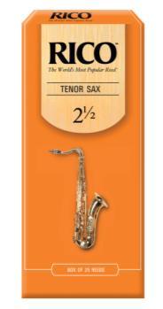 Rico Tenor Sax Reeds, Strength 2.5, Single Reed