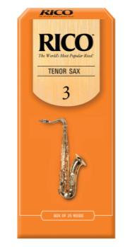 RKA2530 Rico by D'Addario Tenor Sax Reeds, Strength 3, 25-pack