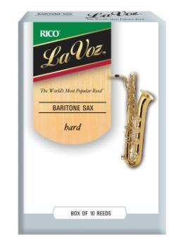 D'Addario RLC10 La Voz Baritone Sax - Box of 10