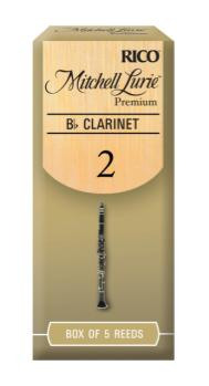 MLPCL Mitchell Lurie Premium Bb Clarinet Reeds, Strength 4.0, 5-pack