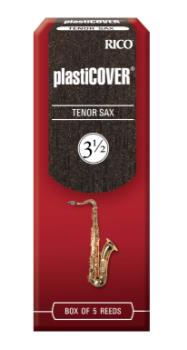 D'addario RRP05TSX350 Rico Plasticover Tenor Sax Reeds, Strength 3.5, 5-pack