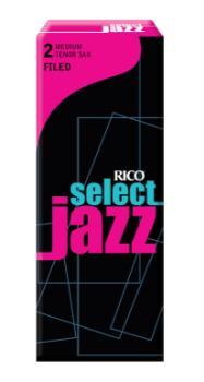 RSF05TSX2M D'Addario Select Jazz Filed #2-Medium Tenor Sax Reeds (5/Box)