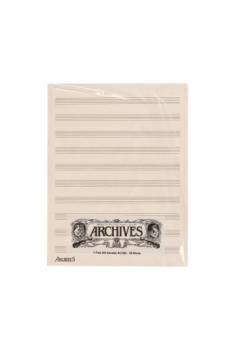 Archives Manuscript Score Pads 10 Stave 50 Sheets SL10S