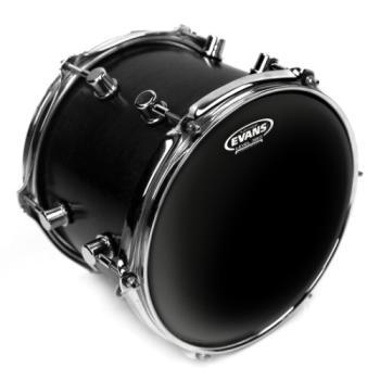 TTCHR Evans Black Chrome Drum Head