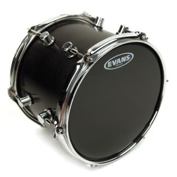 EVANS TT08HBG Hydraulic Black Drum Head, 8 Inch