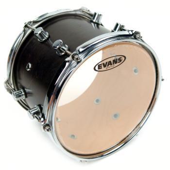 EVANS TT10G2 G2 Clear Drum Head, 10 Inch