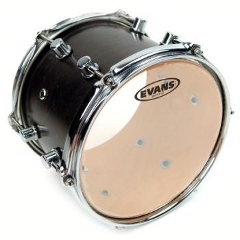 EVANS TT13G2 G2 Clear Drum Head, 13 Inch