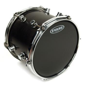EVANS TT13HBG Hydraulic Black Drum Head, 13 Inch