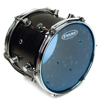 "Evans TT14HB 14"" Hydraulic Blue Drum Head"