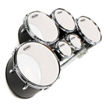 TT14MXF Evans MX Frost Marching Tenor Drum Head, 14 Inch