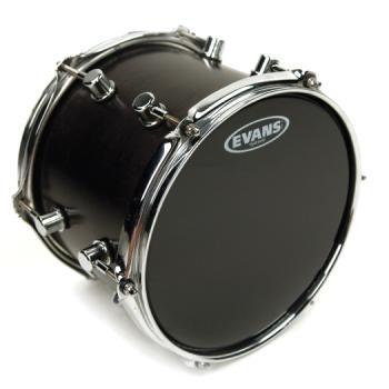 EVANS TT18HBG Hydraulic Black Drum Head, 18 Inch