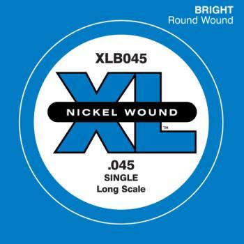 Daddario XLB045 .045 Electric Bass Long Scale Single String