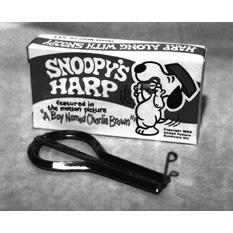 Trophy - Snoopy Jaw Harp