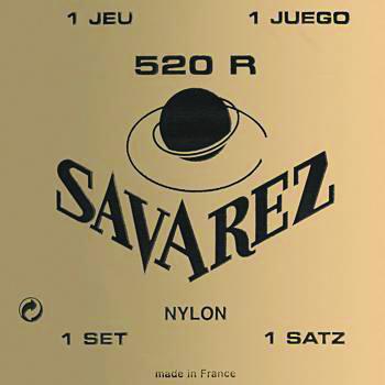 Savarez 520R Red Card Classical Guitar Strings Set