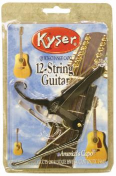 Kyser KG12B - 12-String Quick-Change Capo - Black