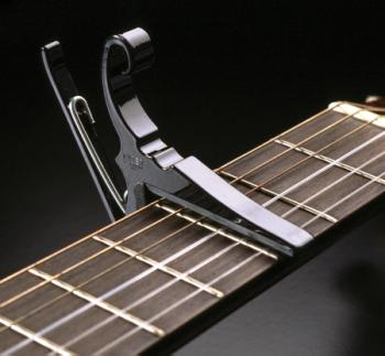 Kyser Black 6 String Guitar Capo