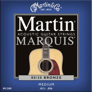 MA150S Martin Marquis Acoustic Strings; Medium 13-56
