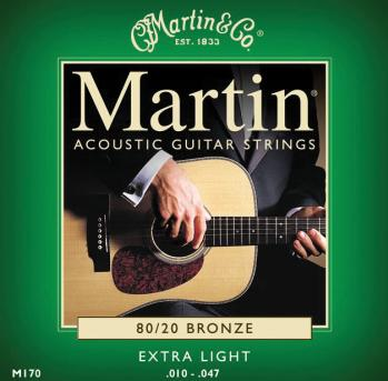 16011970 MARTIN GTR STR SET X-LIGHT
