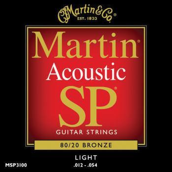 Martin 16013502 MA140T Lifespan 80/20 Bronze Acoustic Guitar Strings, Light