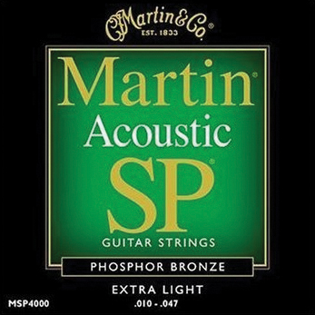 MA530 Martin SP Acoustic Strings; X-Lite 10-47
