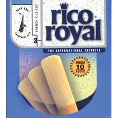 Rico Royal - Alto Sax Reeds, Strength 3, 10-pack