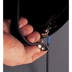 Dunlop SLS103 Straplok Dual Design Strap Retainer System - Black