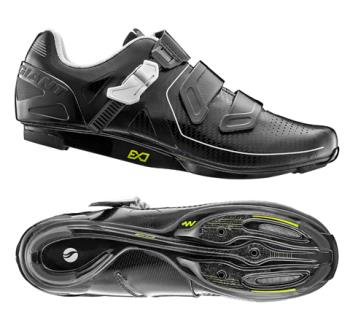Giant G20299 GNT Pulse Road Shoe MES Composite Sole 45 Black/White