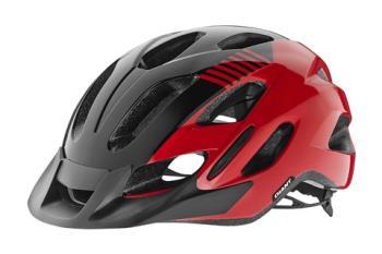Giant G51755 GNT Prompt Youth Helmet OSFM Red/Black