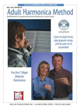 Adult Harmonica Method  Book/CD Set