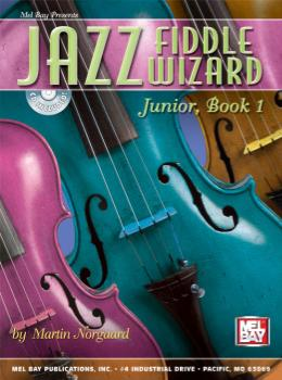 Jazz Fiddle Wizard Junior, Book 1  Book/CD Set