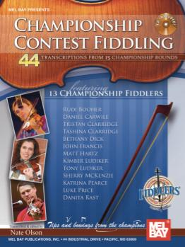 Championship Contest Fiddling Book/CD Set