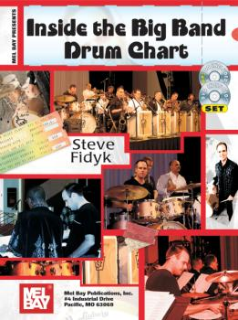Inside The Big Band Drum Chart  Book/CD/DVD Set