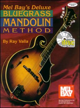 Deluxe Bluegrass Mandolin Method  Book/CD Set