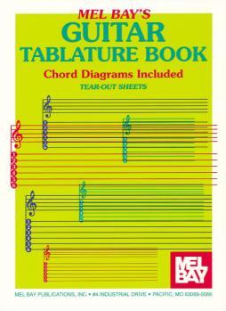 Guitar Tablature Book