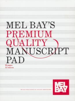 Premium Quality Manuscript Pad 12-Stave -