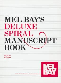 Deluxe Spiral Manuscript Book -