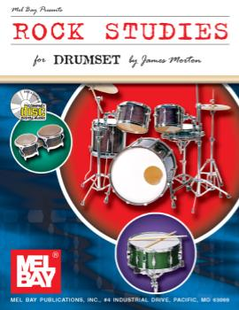 Rock Studies for Drumset  Book/CD Set