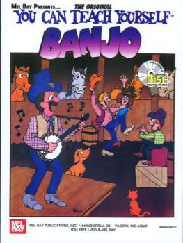 You Can Teach Yourself Banjo  Book/CD Set